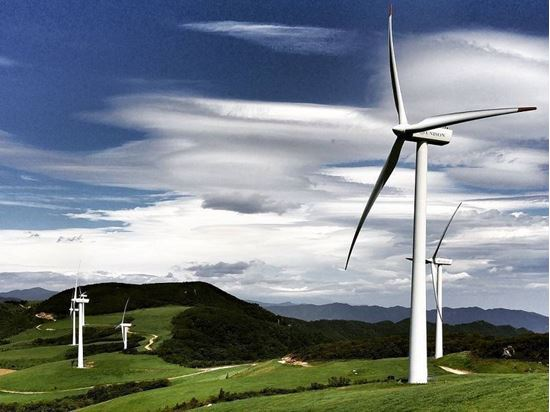 Gangwon Wind Park Project, South Korea.